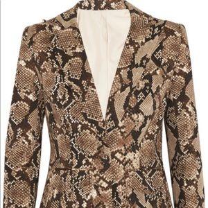 Altuzarra For Target Jackets & Coats - Altuzarra For Target Leopard Print Blazer